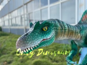 Colorful Spinosaurus Shoulder Puppet for Sale