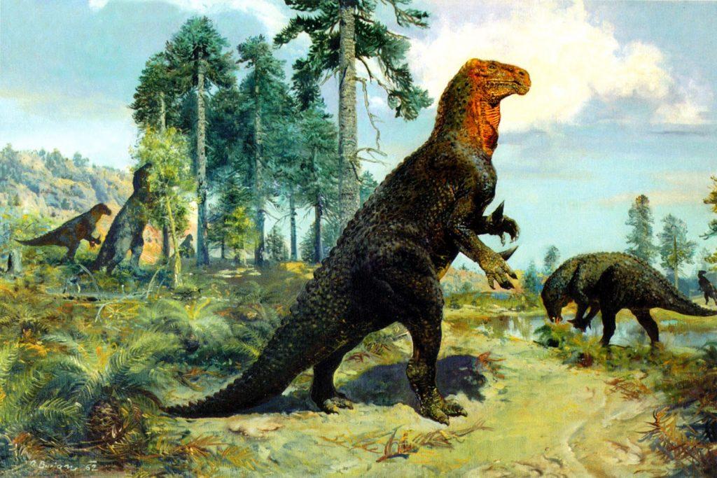 Dinosaur-Renaissance-Revolution-in-Dinosaur-Research-Iguanodons