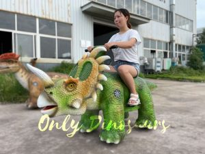Kiddie Dinosaur Styracosaurus Ride for Sale