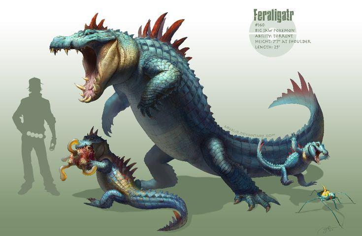 The-Evolutionary-Chain-of-Feraligatr