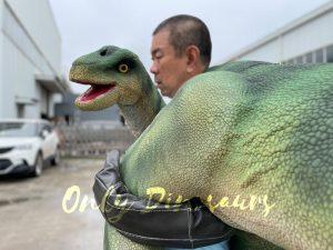 Vivid Brontosaurus Dino Shoulder Puppet