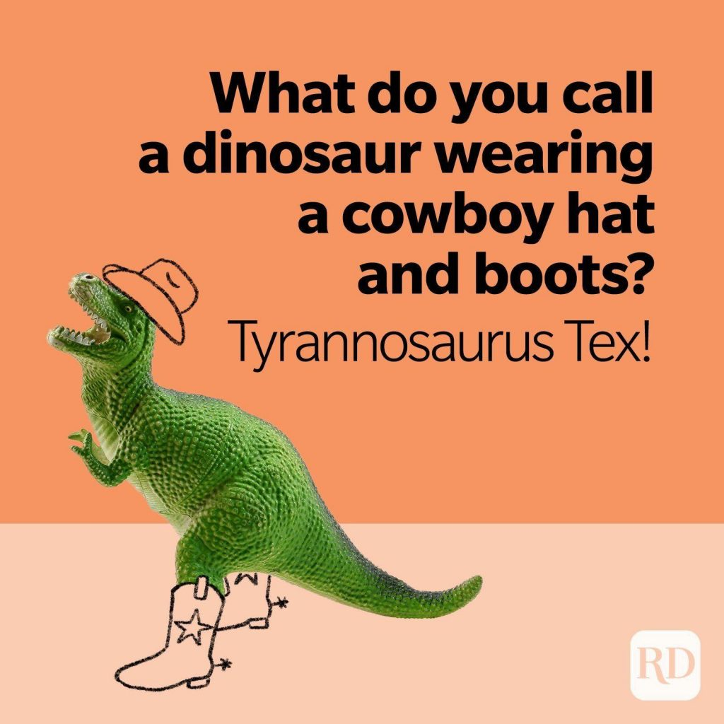 a t-rex in pink background and cowboy costume