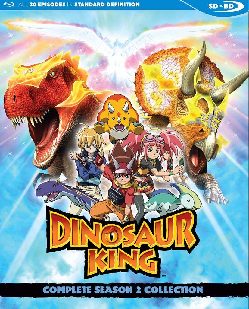 dinosaur king complete season 2 collection