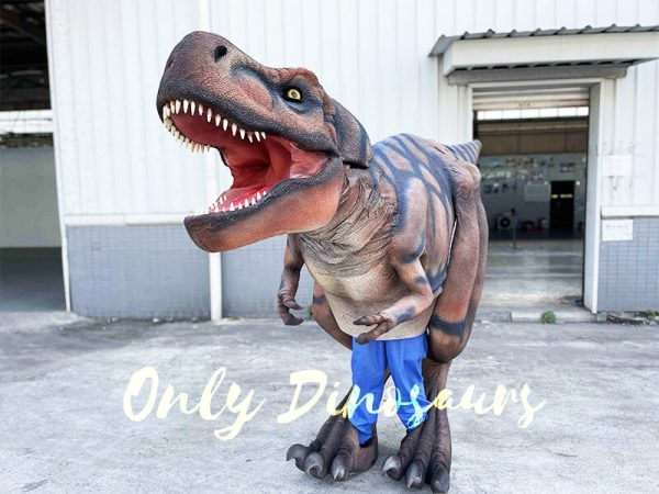 Visible Legs T-Rex Costume