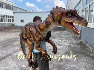 Black Predator Shoulder Puppet for Sale