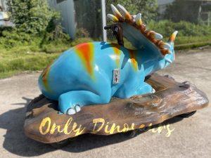 Colorful Styracosaurus Dino Kiddie Ride