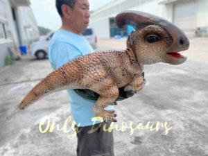 False Arm Eye-opening Parasaurolophus Dino Puppet