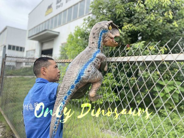Realistic Raptor Dino Puppet