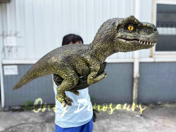 trex dinosaur puppet
