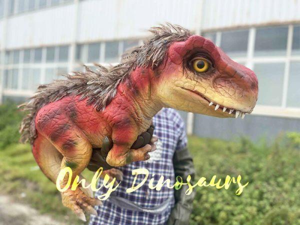 furry baby T-Rex