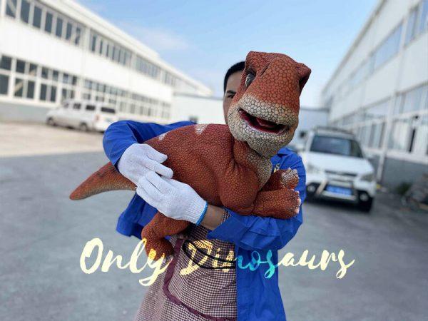 Brachiosaurus Puppet with Blue Sky