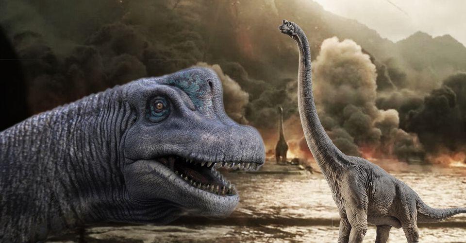 Jurassic World Fallen Kingdom Brachiosaurus Death