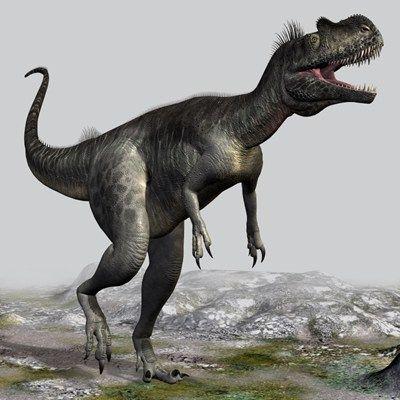 Megalosaurus on the Mountain