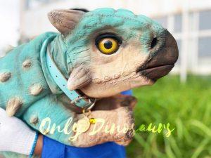 Squabby Ankylosaur False Arm Puppet for Sale