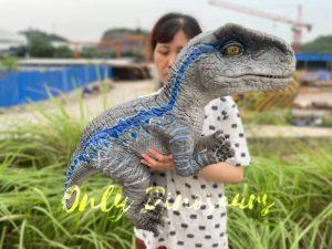 Stunning Velociraptor Dino Hand Puppet for Sale