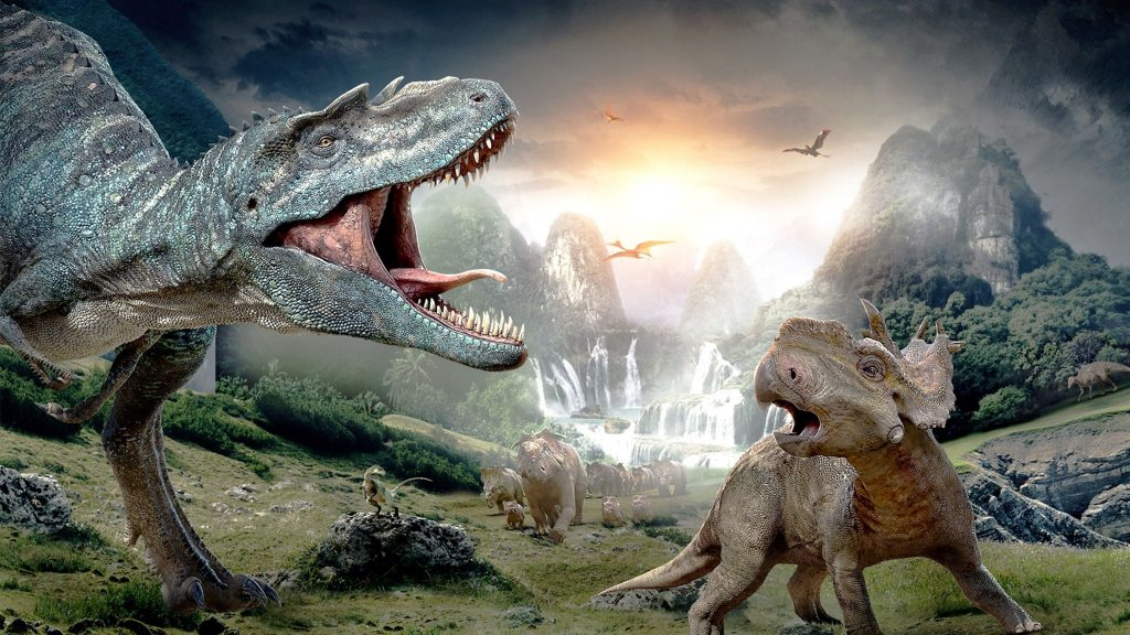 T Rex VS Triceratops on the Ground