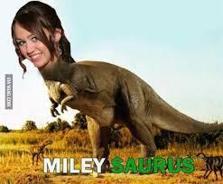 A Dinosaur with a Woman Face