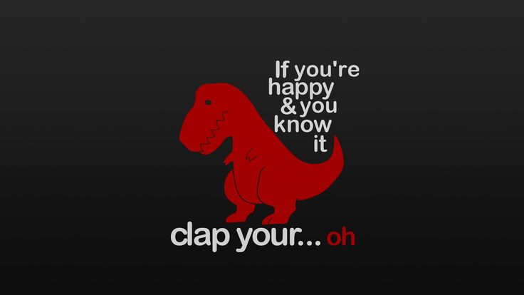 A Red T-REX with Black Background
