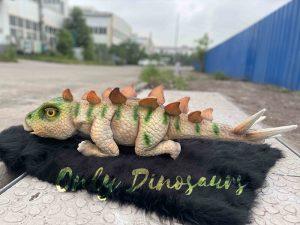 Amicable Animatronic Stegosaurus Baby