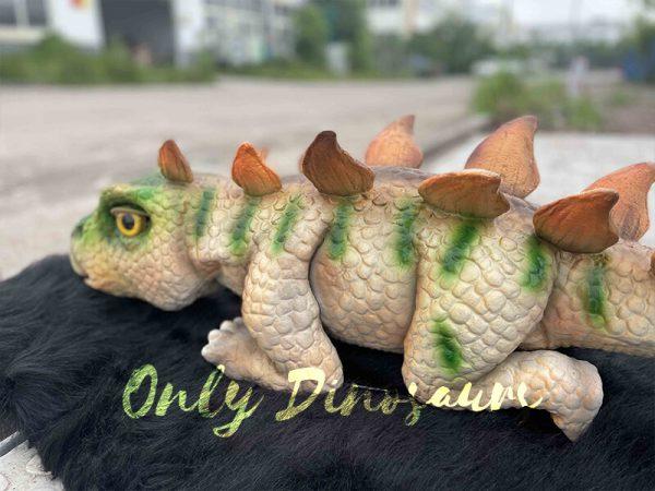 Cute Baby Dino Stegosaurus
