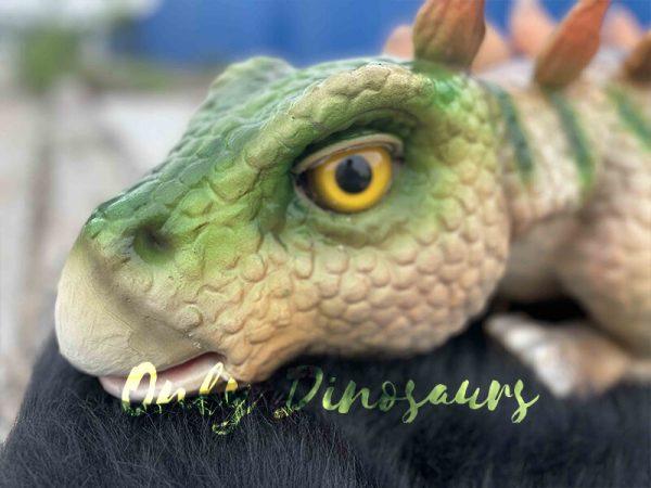 Stegosaurus Dinosaur Puppet for Sale