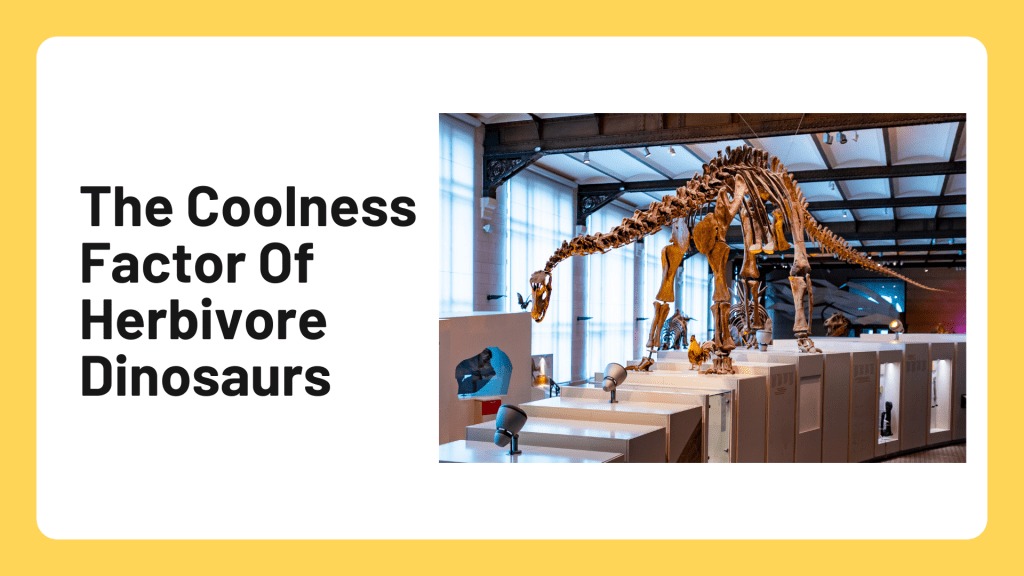 The Coolest Facts About Herbivore Dinosaurs