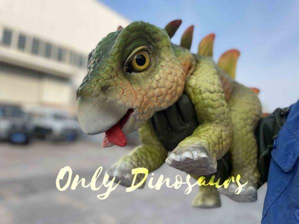 Green Parasaurolophus