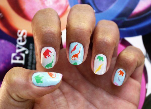 Dinosaur Pattern in Fall Pantone Colors 6