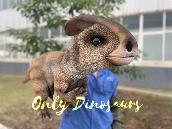 false arm parasaurolophus puppet
