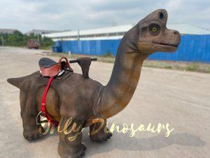 Kiddie Brachiosaurus Walking Dino Ride