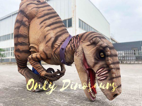 Lifelike Dino Raptor Costume for Show Part2
