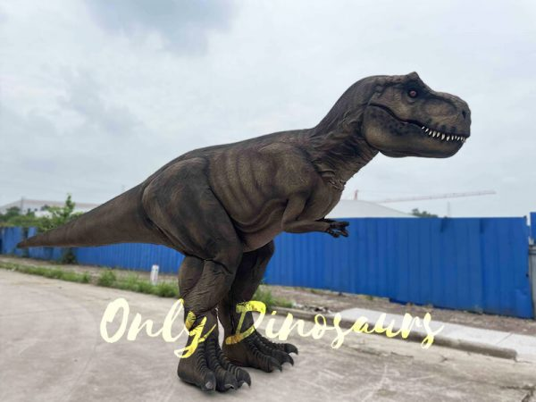 Realistic T-Rex Costume with Stilts Cover