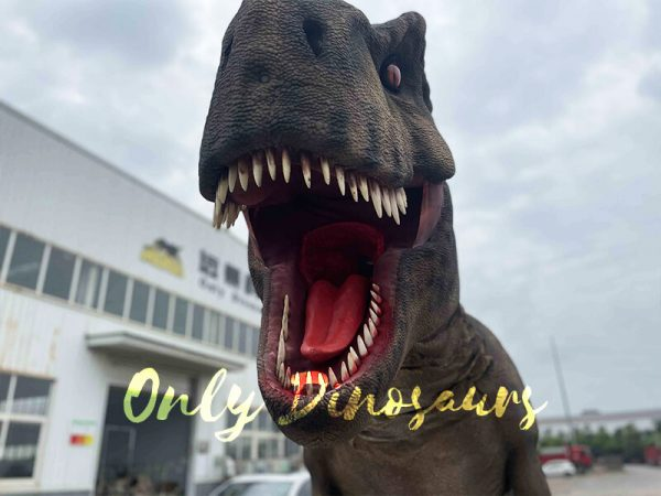 Realistic T-Rex Costume with Stilts Part1