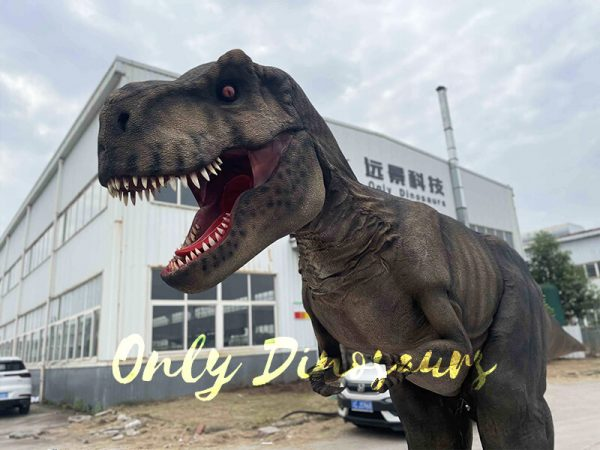 Realistic T-Rex Costume with Stilts Part2