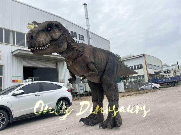 Realistic T-Rex Costume with Stilts Part4