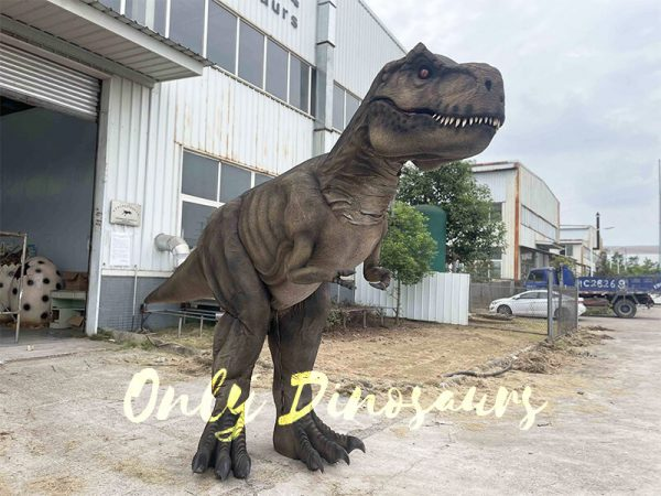 Realistic T-Rex Costume with Stilts Part5