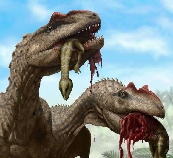Allosaurus diet