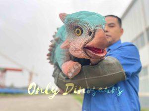 Cute Bumpy Ankylosaurus Dinosaur Puppet Toy
