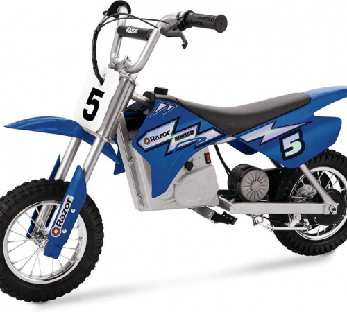 electric-rides-for-kids-A-Bule-Elextric-Motocross-For-Kids