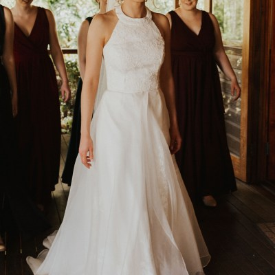 Ivory susan ogg wedding dress | Secondhand wedding dress australia