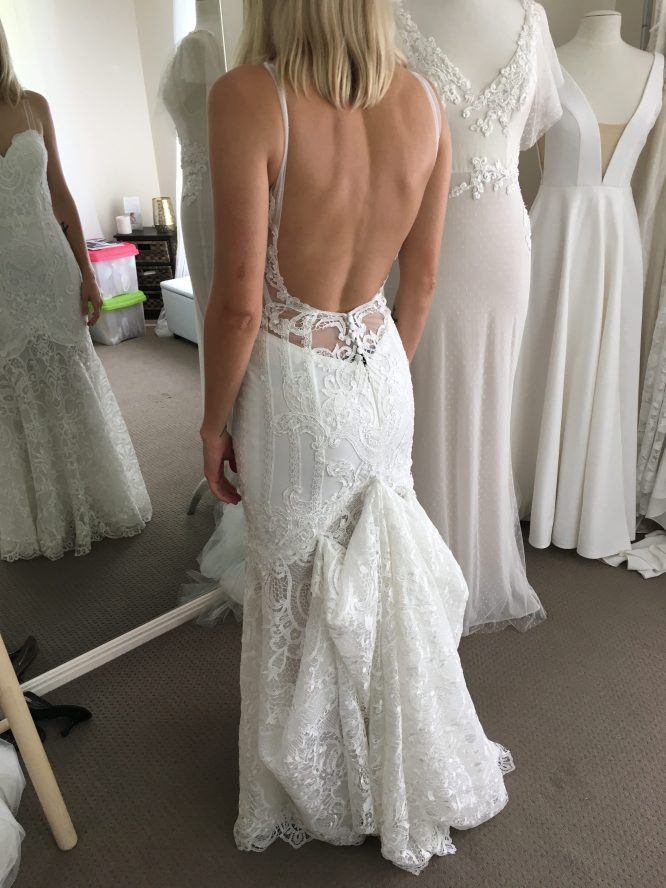 made with love lace wedding dress | how to sell my wedding dress