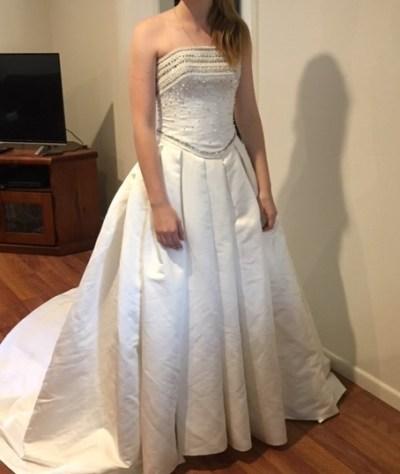 Maggie sottero wedding dress | pre-loved wedding dress
