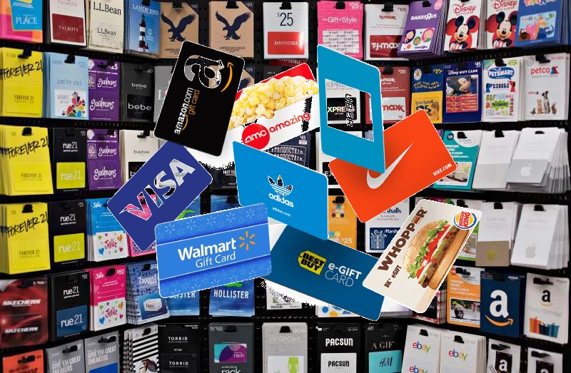 Most Popular Gift Cards
