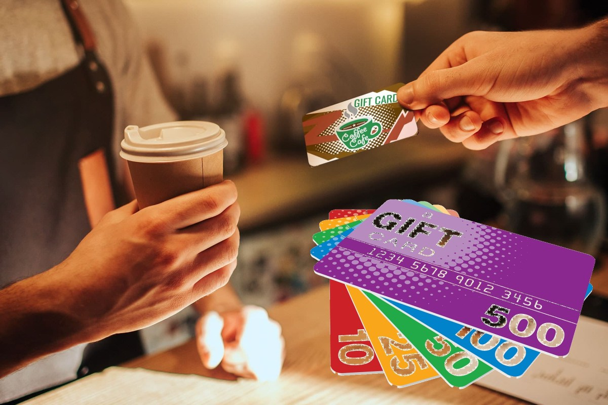 gift cards restaurant coffee