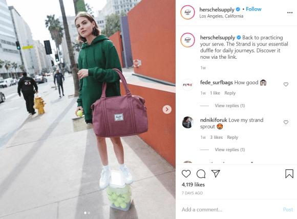 promoting brands via instagram
