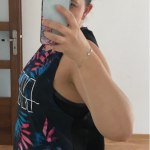Quick-Dry Printed Breathable Yoga and Fitness Top photo review
