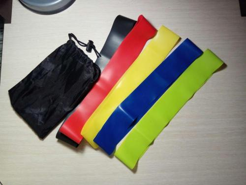Resistance Bands Set New and durable for Yoga - 5 pcs photo review