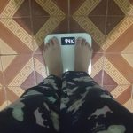 Bluetooth Body Weight Smart Scale with Backlit Display photo review