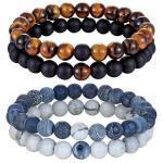 Yoga Natural Stone Beaded Bracelet for Men & Women - Yoga Beaded Bracelet - Only Fit Gear