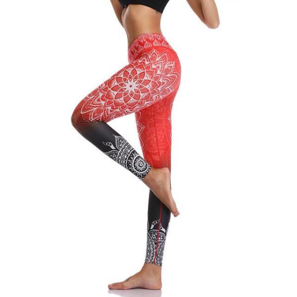 Yoga & Fitness Seamless Printed Leggings - Leggings - Only Fit Gear